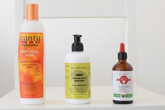 Cream - leave in - oil